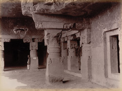 Upper rooms Dhedwada [Dherwada] caves [Ellora]